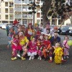 CLOWNS FAMILLY DANS TOUTE SA SPLENDEUR